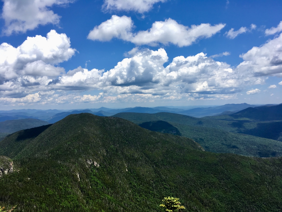 Solo Mt. Osceola – 7/2/19 & connecting with thetrail